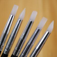 5 Pcs Cake Silicone Brush Fondant Cake Decoration Shaping Pens Cake Pastry Style