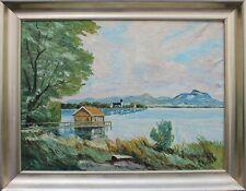 Rudolf Kober - See im Vorgebirge Ölgemälde
