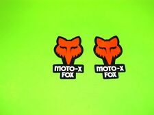 KX KXF RM RMZ SX SXF CR CRF  85 250 450 FOX RACING MOTO-X FOX MOTOCROSS STICKERS