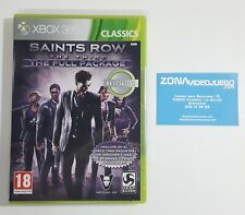 Saints Row The Third The Full Package, Xbox 360, Pal-esp. Nuevo a estrenar.