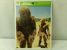 Bigfoot and Wildboy Frame Tray Puzzle Whitman Vintage 1978