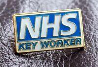 NHS key worker brand new enamel pin badge 2021 National Health Service