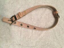 Martha Stewart Pets (S) Coated Linen Pink Buckle Dog Collar, Small,  NWOT