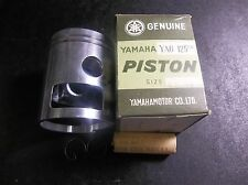 NOS Yamaha YA6 125CC Standard Piston ..Pin and Clips 55.49mm