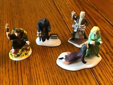 Department Dept 56 Dickens Village Accessories Christmas Carol Spirits Set 4
