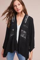 NWT Anthropologie Elevenses Kenepa Lace Kimono Cardigan XS/S $118