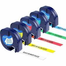 91331 91332 91333 91334 91335 Compatible Dymo LetraTag Plastic Tape Refill 1/2''