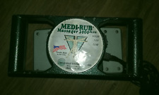 Medi-Rub 2000 Plus 2 Speed Professional Body Massager In Great Condition..!!
