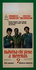 L39 LOCANDINA FRANCO FRANCHI CICCIO INGRASSIA INDOVINA CHI VIENE A MERENDA