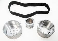 SB Chevy Gilmer Belt Drive SBC Short Water Pump SWP Pulleys 327 350 383 Aluminum