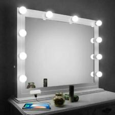 10 Bulbs Hollywood Style LED Vanity USB Dimmable Mirror Lamp Lights for Makeup