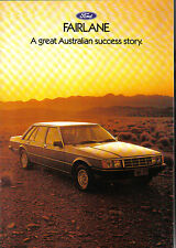 Ford Fairlane ZJ 4.1 EFi Carburettor 4.9 1983 Original Australian Sales Brochure