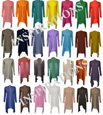 Womens Ladies Floaty Waterfall Cardigan (All Colours)