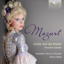 Mozart: Secular Canons, New Music