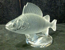 Lalique Frosted Perch Perfect.