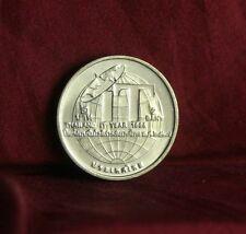 King Bhumibol Adulyadej Info Technology Year Thailand 2 Baht 1995 Coin Rama 9