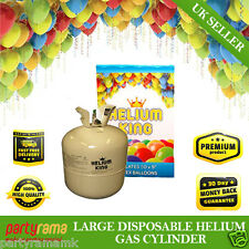 Helium Gas Disposable Cylinder Canister fill 50 9in Party latex Balloons kids