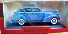 Rextoys 1940 Packard Super Eight 8 Blue Diecast 1/43 Rare