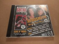 "TOTAL GUITAR "" VOL. 42 APRIL 1998 "" CD EXCELLENT AEROSMITH / GUNS N ROSES"