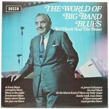 TED HEATH et sa musique, le monde du Big Band Blues Vinyle/LP * Utilisé *