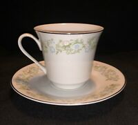 Towne House Retired Georgia Pattern Selected Fine China Tea Cup & Saucer. Japan