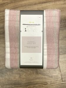 Threshold Plaid Flannel Sheet Set Twin