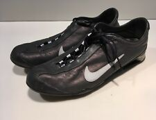Nike Shox Rival Dark Gray Leather 312563-041 Women Shoes 9.5 M Running Sneakers
