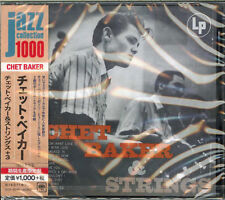 CHET BAKER-CHET BAKER & STRINGS-JAPAN CD BONUS TRACK Ltd/Ed B63