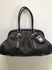 DESIGNER - PRADA Milano -Jacquard Logo Handbag -100% Genuine cost over £1000 new