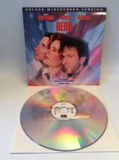Laser Disk, Hero, Dustin Hoffman, Geena Davis, Comedy, Free Shipping