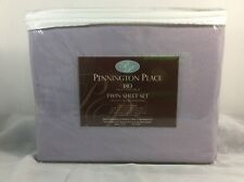 Pennington Place 3 Pc Twin Sheet Set 180 Thread Count Lilac