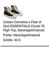 Converse x Fear Of God Essentials Chuck 70 Größe 44,5
