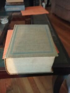 Webster Dictionary, 1955, Second Edition Unabridged, with Maps and Illustrations