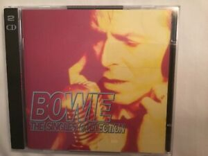 Bowie 'The Singles Collection' 2 CD & Booklet Like New 37 Tracks