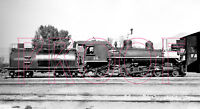 Southern Pacific Narrow Gauge Engine 14 at Mina. NV in 1926 - 8x10 Photo
