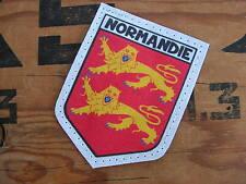 "SNAKE PATCH blason "" NORMANDIE "" Région FRANCE Blason Normandy D DAY Calvados"
