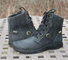 KEEN REISEN ZIP WP FG US 8 EU 38.5 Woman's Boot Black Leather