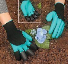 "Garden Gloves With Claws Digging Weeding Seeding poking Safe MEN New ""Original"""