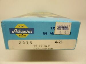 HO Athearn, #2015, 85' A/P, Undecorated