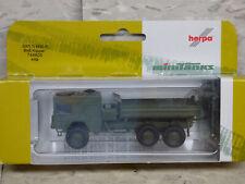 Roco Minitanks / Herpa Modern German MAN 4530 7 Ton Tilt 6x6 Truck  Lot #3458