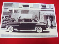 195O CHRYSLER IMPERIAL   11 X 17  PHOTO   PICTURE