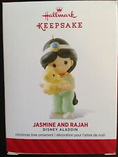 HALLMARK DISNEY 2014 PRECIOUS MOMENTS JASMINE AND RAJAH
