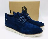 Hush Puppies Women's Chowchow Chukka Boot Royal Navy Suede, MSRP $110