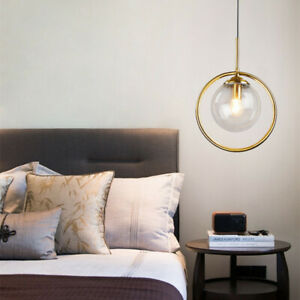 Glass Pendant Light Kitchen Ceiling Lamp Modern Chandelier Lighting Home Lights