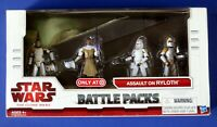STAR WARS Clone Wars ASSAULT ON RYLOTH BATTLE PACK ~ Target Exclusive ~ NEW
