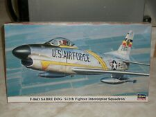 Hasegawa 1/72 F-86D Sabre Dog '512th Fighter Interceptor Squadron'  - Sealed