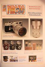 PHOTO DEAL Sonderheft photokina 2007 Leitz Nikon Holly-Box Pflege opt. Prinzip