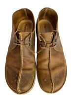 Clarks Originals Desert Trek 31319 Brown Leather Lace Up Size 9M