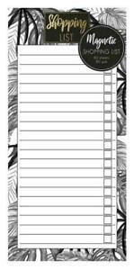 Magnetic Shopping List Pad Tropical Refrigerator Shopping List Pad Fridge Notes