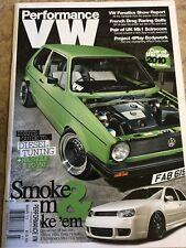 Performance VW Magazine  March 2011 PVW VW GTI VR6 1.8T Mk4 Mk1